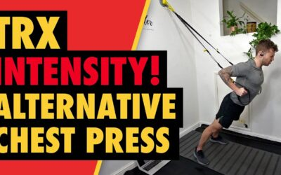 Intense TRX Alternative Chest Press for Lower Pec Growth