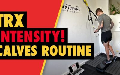 Intense 5 min TRX Calves Routine to Build Muscle