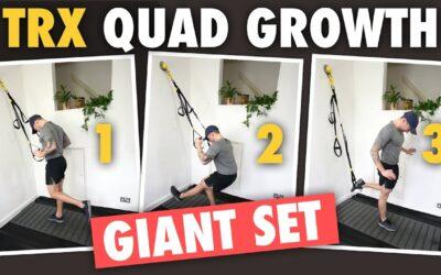 3 TRX Exercises Giant Set for Quad Growth