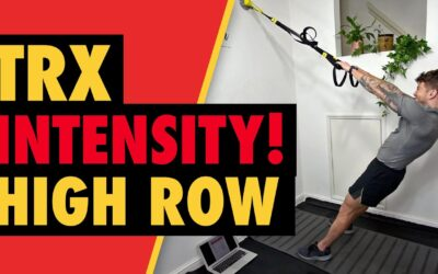 Intense TRX High Row for Upper Back Muscle Growth
