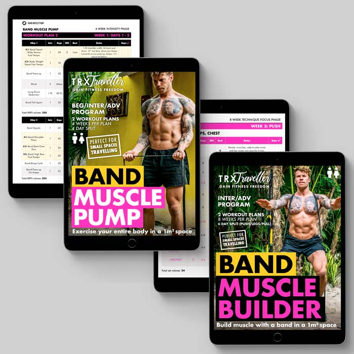 Resistance Band Burn and Build Stack Workout Plans and Exercise