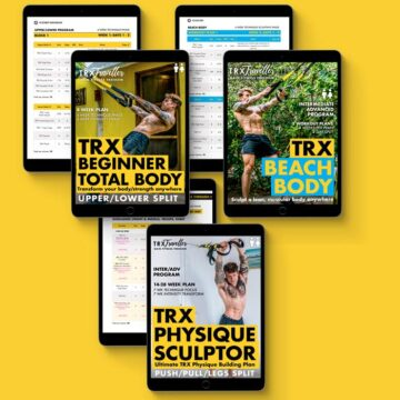 TRX LEAN AND SCULPT WORKOUT PROGRAM AND EXERCISE