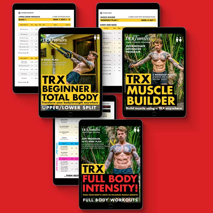 TRX MUSCLE AND SIZE WORKOUT PROGRAM AND EXERCISE