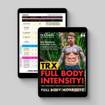 Advanced: TRX Full Body Intensity!