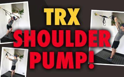 3 TRX Exercise Giant Set for Building Shoulder Shape