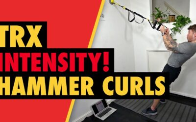 Intense TRX Hammer Curls for Biceps Muscle Growth