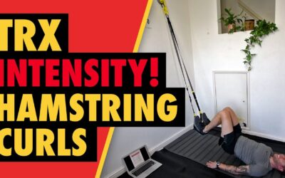 Intense TRX Hamstring Curls for Muscle Growth