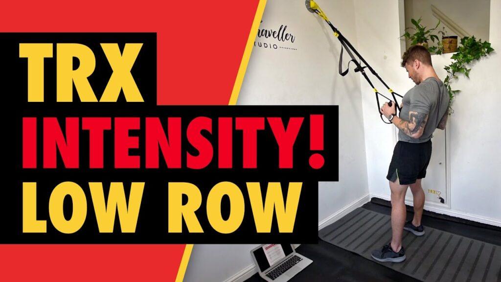 Intense TRX Low Row to Build Back Width