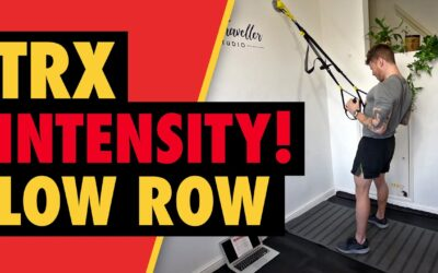 Intense TRX Low Row to Build Back Width