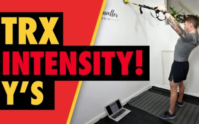 Intense TRX Face Pulls for 4D Shoulder Muscle Shape