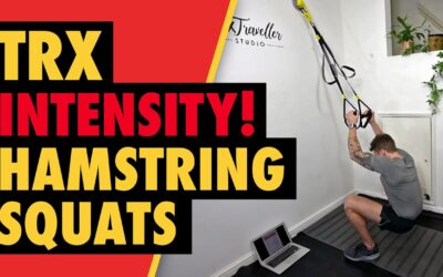 Intense TRX Squats for Hamstrings & Glutes