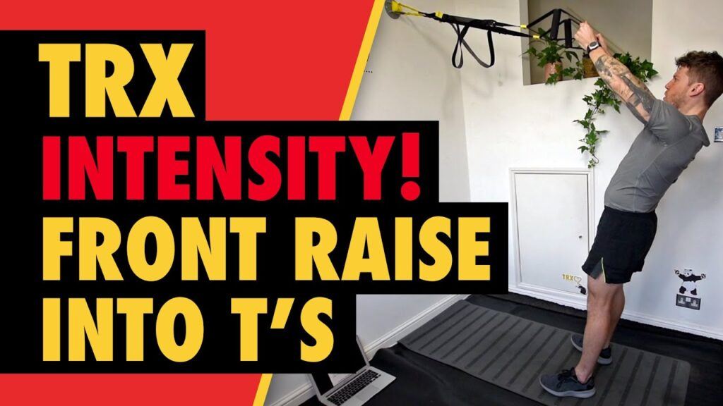 Intense TRX Front Raises & T's to Build Shoulder Muscles