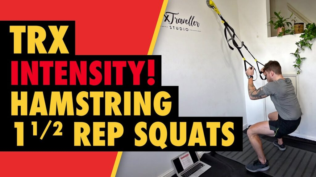 TRX Hamstring & Glute Half Rep Squats for Muscle Growth