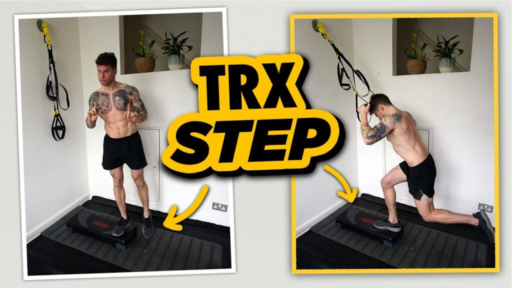 Get Serious Quad BURN with this TRX Reverse Lunge