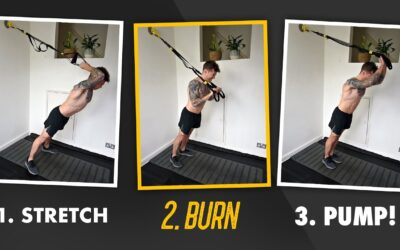 Destroy the Triceps with this 3 TRX Exercise tri-set Finisher