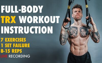 Full Body TRX Workout with Instructional Guidance | Advanced