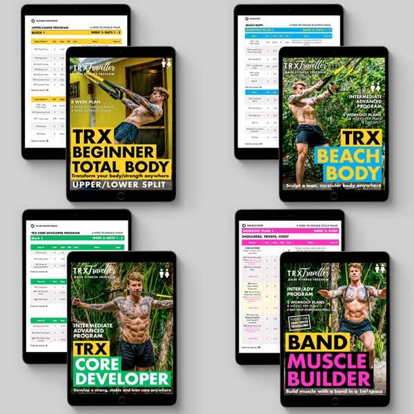 TRX Traveller Adam Atkinson Workout Programs and Exercise