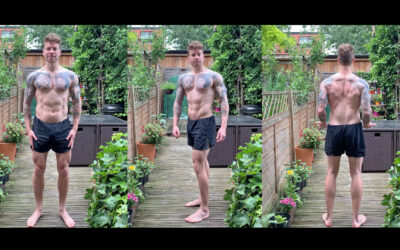 Current TRX training physique update July 2021